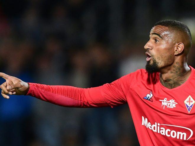 Kevin-Prince Boateng soll den AC Florenz wohl verlassen