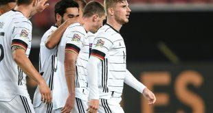 Timo Werner (r.) erzielte den Treffer für die DFB-Elf