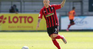 Jonathan Schmid erzielt gegen Mannheim den Siegtreffer