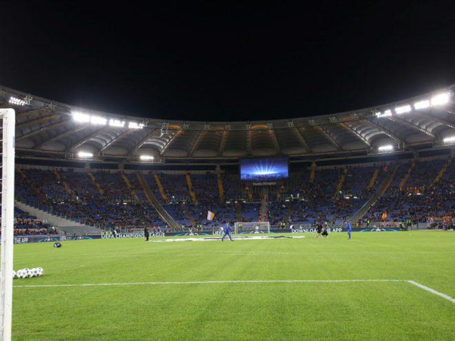 Bald mehr Zuschauer im Olympiastadion in Rom