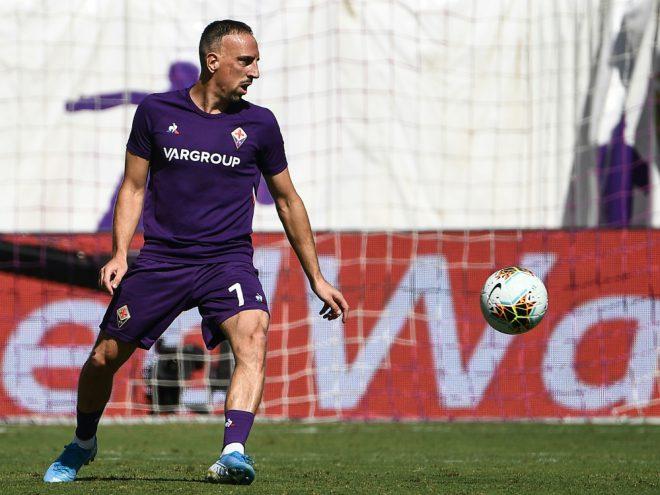 Franck Ribery siegte zum Ligaauftakt mit AC Florenz