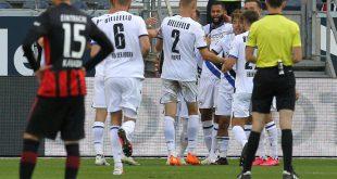 Aufsteiger Bielefeld holt in Frankfurt einen Punkt