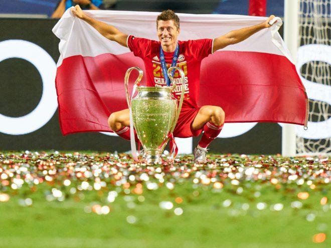 Robert Lewandowski wurde mit 15 Toren bester Torschütze