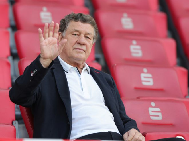 """""""König Otto"""" war bei der Pokalüberraschung im Stadion"""