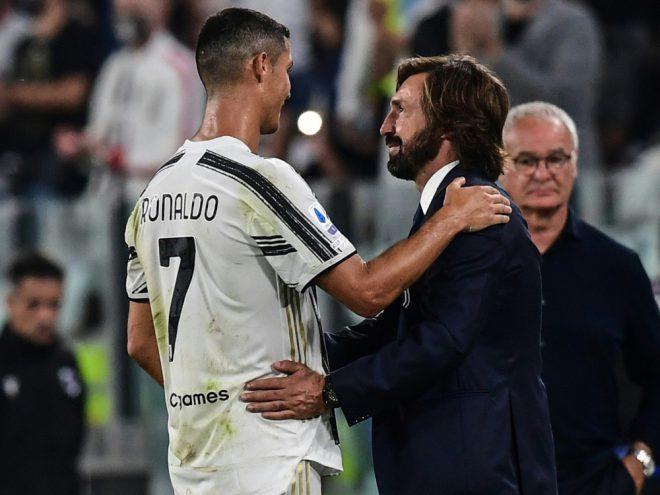Andrea Pirlo gratuliert seinem Star Cristiano Ronaldo