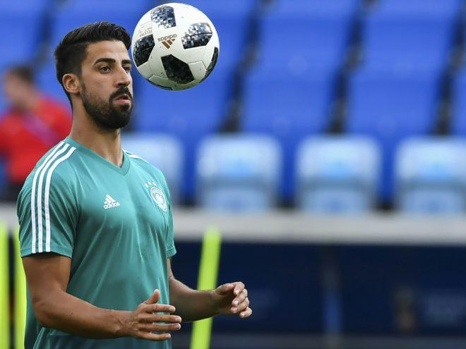 Wieder zurück im Training: Sami Khedira