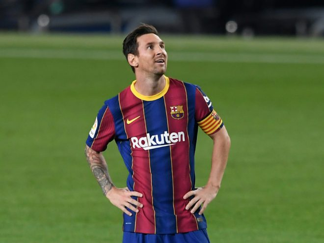 Traf per Elfmeter zum 3:0: Lionel Messi