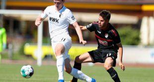 Michael Gregoritsch spielt seit 2017 beim FC Augsburg