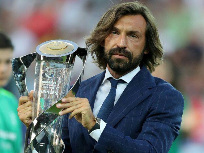 Pirlo wird sein Trainer-Debüt am 19. September geben