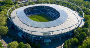 Die HDI Arena fasst bei voller Auslastung 49.000 Fans
