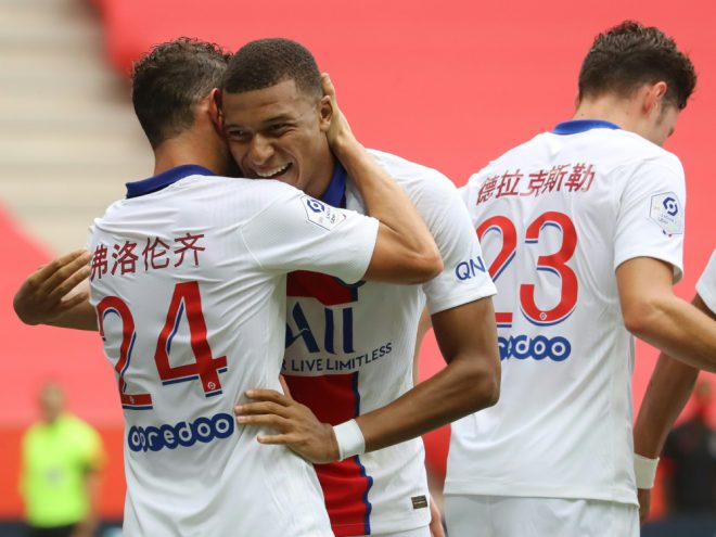 Ligue 1: Paris St. Germain bezwingt OGC Nizza 3:0