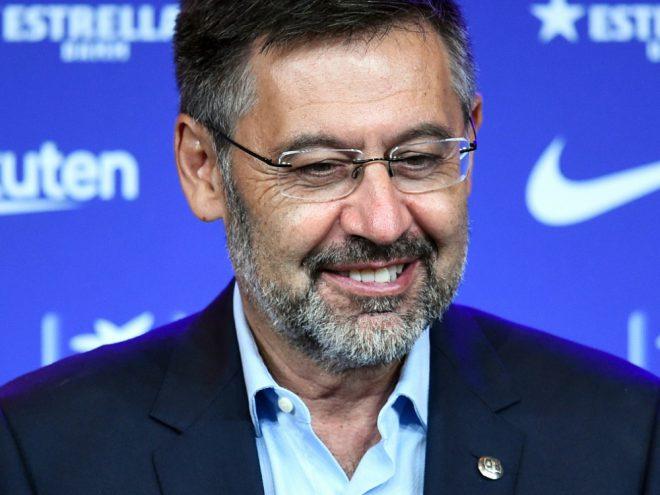 Denkt nicht an einen Rücktritt: Josep Maria Bartomeu