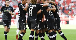 Der SC Freiburg bezwingt Aufsteiger VfB Stuttgart 3:2