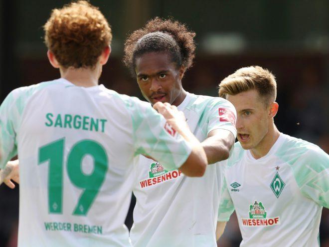Für Werder erfolgreich: Sargent und Chong