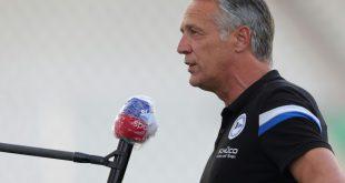 Gibt am Samstag sein Bundesliga-Debüt: Uwe Neuhaus