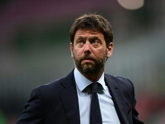 Andrea Agnelli ist auch Präsident von Juventus Turin