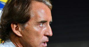 Roberto Mancini hadert mit dem Remis gegen Bosnien