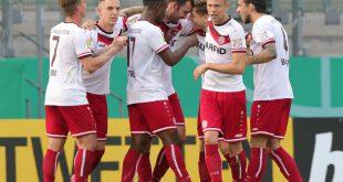 Rot-Weiss Essen schlägt Bundesligist Arminia Bielefeld