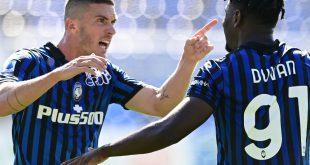 9 Punkte aus 3 Spielen: Gosens (l) und Atalanta