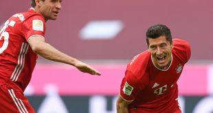 Lewandowski hat in fünf Spielen schon zehn Tore erzielt