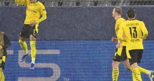Borussia Dortmund siegt spät gegen Zenit St. Petersburg