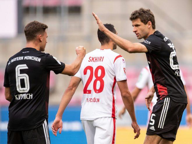 Bayern München holt knappen Sieg in Köln