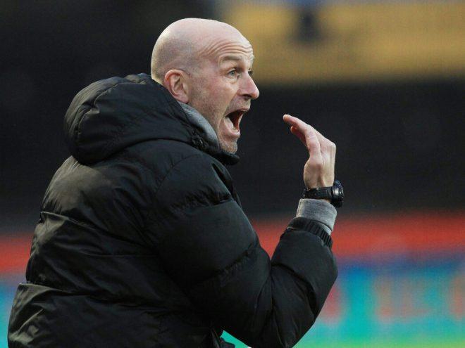 Trainer Marco Antwerpen und die Kickers können aufatmen
