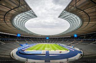 Auch die Ränge des Olympiastadions bleiben vorerst leer