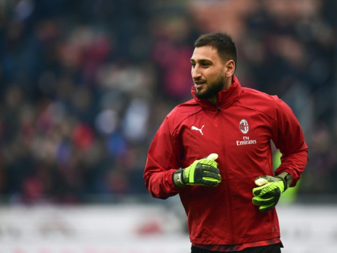 Donnarumma steht dem AC Mailand nicht zur Verfügung