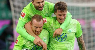 Der VfL Wolfsburg bezwingt Arminia Bielefeld 2:1