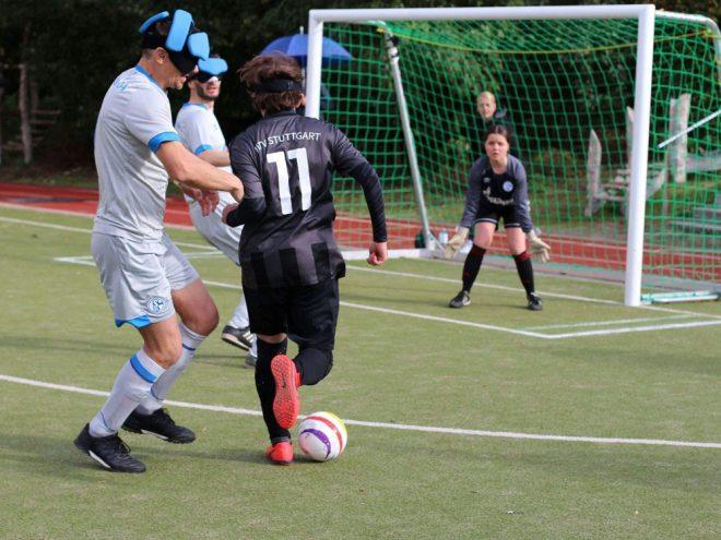 Blindenfußball: MTV Stuttgart stürmt ins Finale
