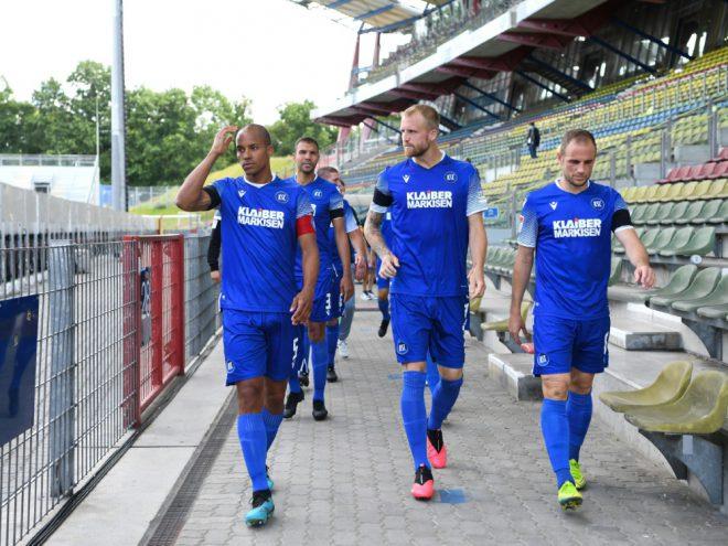Erstes Tor und erster Sieg für den Karlsruher SC