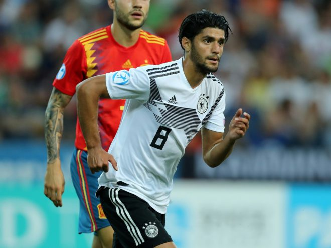 Mahmoud Dahoud im Finale der U21-EM in Italien