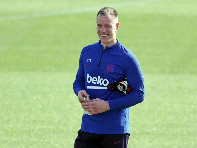 Bis 2025 bei Barca: Marc-Andre ter Stegen