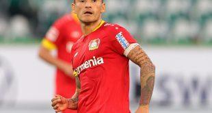 Leverkusen-Kapitän Charles Aranguiz fällt verletzt aus