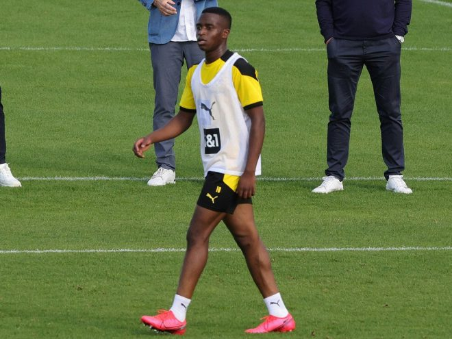 BVB-Talent Moukoko soll in der Champions League starten