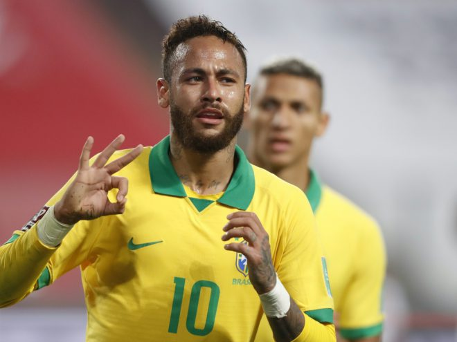 Neymar ist auf Rekordjagd