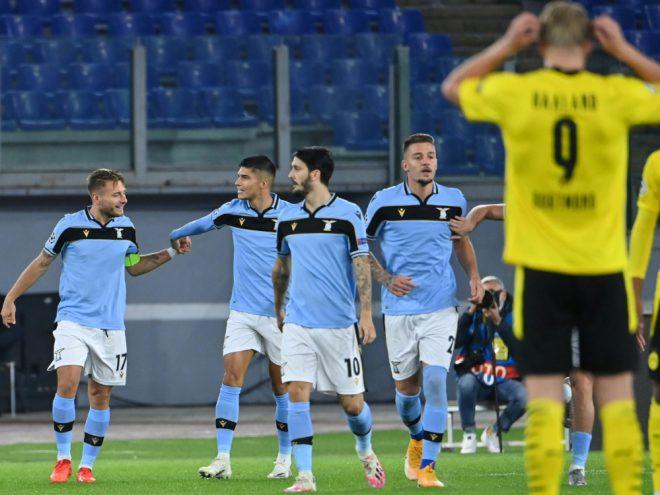 Der BVB verliert zum Champions-League-Auftakt in Rom