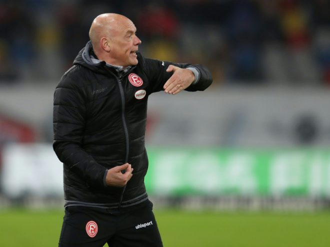 Uwe Rösler holte mit Düsseldorf den zweiten Saisonsieg