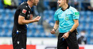 Bundesligadebüt mit 32 Jahren: Fabian Klos (l.)