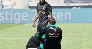 Gladbach: Lazaro im Training - Benes noch nicht fit