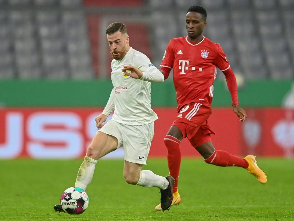 Pokalspiel Wolfsburg Bayern