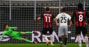 Ibrahimovic schoss einen Elfmeter an die Latte