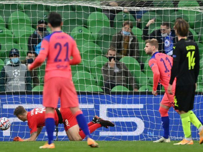 Chelseas Timo Werner traf per Elfmeter