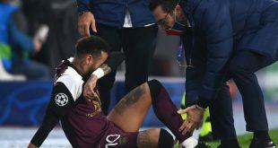 Fehlt wahrscheinlich gegen Leipzig: Neymar