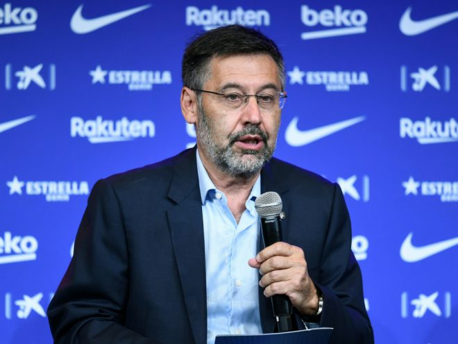 Ankündigung zm Abschied: Josep Maria Bartomeu