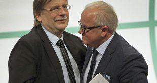 Rainer Koch (l.) und Fritz Keller