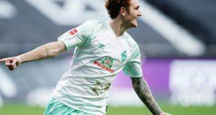 Joshua Sargent trifft in Frankfurt für Werder