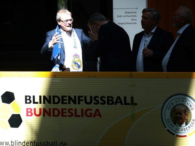 2008 ins Leben gerufen: Die Blindenfußball-Bundesliga