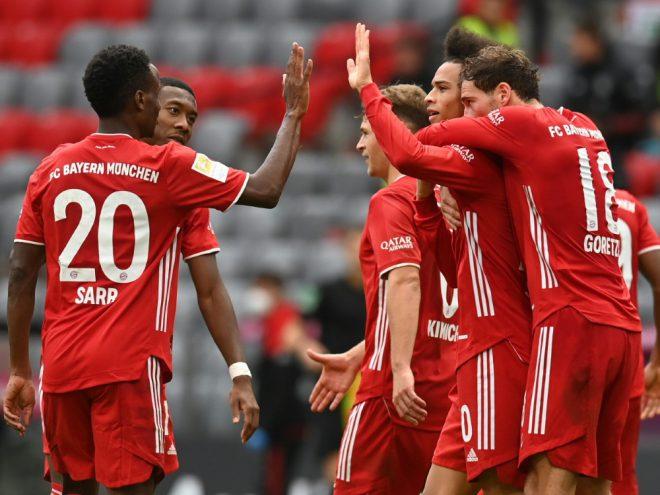 Die Bayern starten mit der Formation aus der Vorwoche